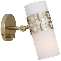 Robert Abbey Jonathan Adler Parker 1 Light 5 inch Antique Brass Wall Sconce Wall Light 639 - Open Box