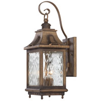 Minka-Lavery R-72112-149 Wilshire Park 3 Light 19 inch Portsmouth Bronze Outdoor Wall Lantern The Great Outdoors 72112-149 - Open Box