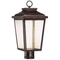 Minka-Lavery R-72176-189-L Irvington Manor LED 18 inch Chelesa Bronze Outdoor Post Lantern 72176-189-L - Open Box