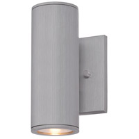 Minka-Lavery R-72501-A144-L Skyline LED 8 inch Brushed Aluminum Outdoor Wall Light The Great Outdoors 72501-A144-L - Open Box