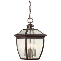 Minka-Lavery Sunnybrook 4 Light 9 inch Alder Bronze Outdoor Chain Hung Lantern 72524-246 - Open Box