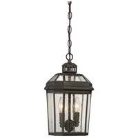 Minka-Lavery Hawks Point 2 Light 7 inch Oil Rubbed Bronze Outdoor Chain Hung Lantern 72534-143 - Open Box