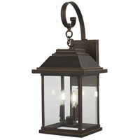 Minka-Lavery R-72633-143C Mariners Pointe 4 Light 26 inch Oil Rubbed Bronze with Gold Outdoor Wall Mount 72633-143C - Open Box