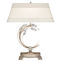 Fine Art Lamps R-758610ST Crystal Laurel 31 inch 150 watt Antique Taupe Table Lamp Portable Light 758610ST - Open Box