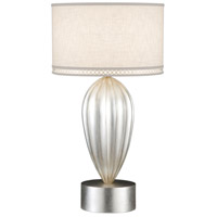 Fine Art Lamps Allegretto 33 inch 150 watt Silver Table Lamp Portable Light 793110ST - Open Box