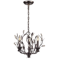 ELK Circeo 3 Light 16 inch Deep Rust Chandelier Ceiling Light in Standard 8058/3 - Open Box