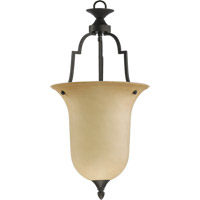 Quorum R-817-44 Coventry 1 Light 13 inch Toasted Sienna Pendant Ceiling Light 817-44 - Open Box