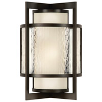 Fine Art Lamps Singapore Moderne Outdoor 1 Light 15 inch Bronze Outdoor Wall Sconce 818081ST - Open Box