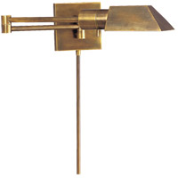 Visual Comfort Studio 24 inch 40 watt Hand-Rubbed Antique Brass Swing-Arm Wall Light 82034HAB - Open Box