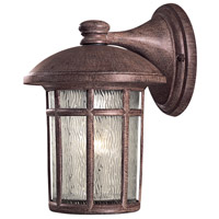 Minka-Lavery R-8252-61 Cranston 1 Light 13 inch Vintage Rust Outdoor Wall Mount Lantern 8252-61 - Open Box