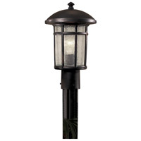 Minka-Lavery R-8256-94 Cranston 1 Light 15 inch Heritage Outdoor Post Mount Lantern The Great Outdoors 8256-94 - Open Box