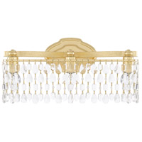 Capital Lighting Blakely 3 Light 19 inch Capital Gold Vanity Wall Light 8528CG-CR - Open Box