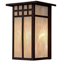 Minka-Lavery Scottsdale 1 Light 12 inch Textured French Bronze Outdoor Pocket Lantern 8602-A179-PL - Open Box