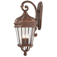 Minka-Lavery R-8693-61 Harrison 4 Light 32 inch Vintage Rust Outdoor Wall Light The Great Outdoors 8693-61 - Open Box