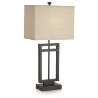 Pacific Coast R-87-6576-20 Central Loft 31 inch 100 watt Bronze Table Lamp Portable Light 87-6576-20 - Open Box