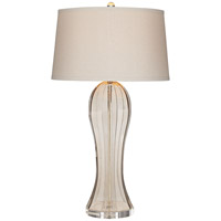Pacific Coast R-87-7975-2A Ocean Terrace 32 inch 100 watt Champagne Table Lamp Portable Light 87-7975-2A - Open Box