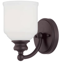 Savoy House Melrose 1 Light 5 inch English Bronze Sconce Wall Light  9-6836-1-13 - Open Box