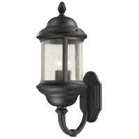 Minka-Lavery Hancock 3 Light 23 inch Black Outdoor Wall Mount Lantern 9018-66 - Open Box