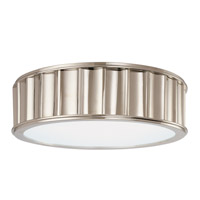 Hudson Valley Middlebury 2 Light 13 inch Polished Nickel Flush Mount Ceiling Light  911-PN - Open Box