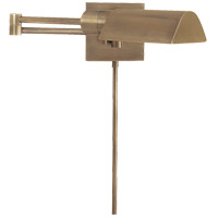 Visual Comfort Studio 1 Light Swing-Arm Wall Light in Antique Nickel 92025AN - Open Box