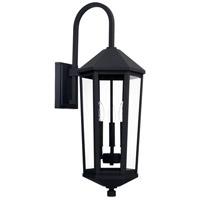 Capital Lighting R-926931BK Ellsworth 3 Light 29 inch Black Outdoor Wall Mount 926931BK - Open Box