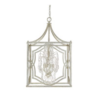 Capital Lighting Blakely 4 Light 18 inch Antique Silver Foyer Ceiling Light in Clear 9482AS-CR - Open Box