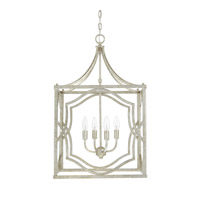 Capital Lighting Blakely 4 Light 18 inch Antique Silver Foyer Ceiling Light in (None) 9482AS - Open Box