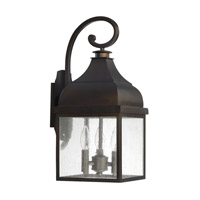 Capital Lighting Westridge 3 Light 20 inch Old Bronze Outdoor Wall Lantern 9642OB - Open Box