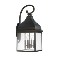 Capital Lighting Westridge 4 Light 25 inch Old Bronze Outdoor Wall Lantern 9643OB - Open Box