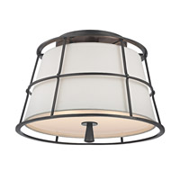 Hudson Valley Savona 2 Light 14 inch Old Bronze Semi Flush Ceiling Light  9814-OB - Open Box