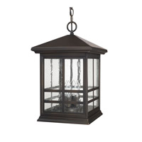 Capital Lighting Preston 4 Light 11 inch Old Bronze Outdoor Hanging Lantern 9914OB - Open Box