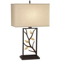 Pacific Coast R-9P668 Vera 29 inch 150 watt Bronze w/Gold Table Lamp Portable Light 9P668 - Open Box