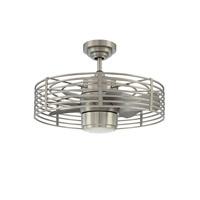 Kendal Lighting Enclave 23 inch Satin Nickel Ceiling Fan AC17723-SN - Open Box