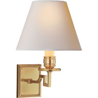Visual Comfort Alexa Hampton 1 Light Decorative Wall Light in Natural Brass AH2000NB-NP - Open Box