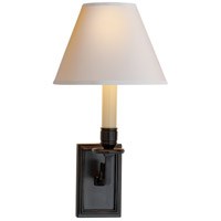 Visual Comfort Alexa Hampton Dean 1 Light Decorative Wall Light in Gun Metal with Wax AH2001GM-NP - Open Box