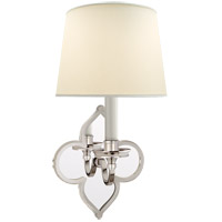 Visual Comfort Alexa Hampton Lana 1 Light 6 inch Polished Nickel Decorative Wall Light AH2040PN-PL - Open Box photo thumbnail