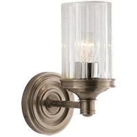 Visual Comfort R-AH2200AN-CG Alexa Hampton Ava 1 Light 5 inch Antique Nickel Single Sconce Wall Light AH2200AN-CG - Open Box