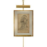 Alexa Hampton Estelle 40 watt 11 inch Natural Brass Picture Light Wall Light
