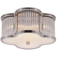 Visual Comfort Alexa Hampton Basil 2 Light 11 inch Polished Nickel with Clear Glass Flush Mount Ceiling Light AH4014PN/CG-FG - Open Box