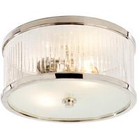 Visual Comfort Alexa Hampton Randolph 2 Light 11 inch Polished Nickel Flush Mount Ceiling Light AH4200PN-FG - Open Box