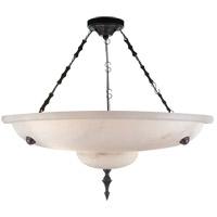 Visual Comfort R-AH5000ALB Alexa Hampton Charles 3 Light 14 inch Alabaster Natural Stone Chandelier Ceiling Light AH5000ALB - Open Box