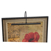 House of Troy Advent 30 watt 16 inch Black Picture Light Wall Light APR16-7 - Open Box