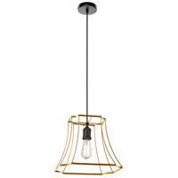 Dainolite R-BKO-1M-GLD Belenko LED 15 inch Gold Pendant Ceiling Light BKO-1M-GLD - Open Box
