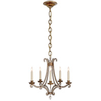 Visual Comfort E. F. Chapman Oslo 5 Light 17 inch Gilded Iron Chandelier Ceiling Light CHC1559GI-CG - Open Box  photo thumbnail