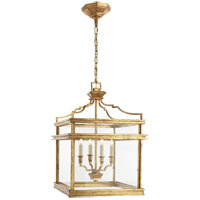 Visual Comfort E. F. Chapman Mykonos 4 Light 17 inch Gilded Iron with Wax Foyer Pendant Ceiling Light CHC2161GI - Open Box