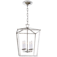 Visual Comfort E.F. Chapman Darlana 4 Light 13 inch Polished Nickel Foyer Lantern Ceiling Light, E.F. Chapman, Small CHC2164PN - Open Box