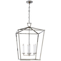Visual Comfort E. F. Chapman Darlana 6 Light 29 inch Polished Nickel Foyer Pendant Ceiling Light CHC2177PN - Open Box