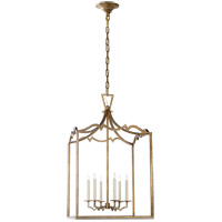 Visual Comfort E. F. Chapman Darlana 6 Light 22 inch Gilded Iron Foyer Pendant Ceiling Light CHC2182GI - Open Box photo thumbnail