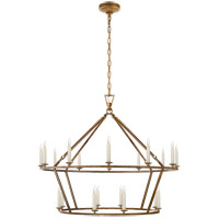 Visual Comfort E. F. Chapman Darlana 20 Light 40 inch Gilded Iron Chandelier Ceiling Light CHC5179GI - Open Box