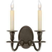 Visual Comfort R-CHD1139BZ E. F. Chapman Grosvenor House 2 Light 11 inch Bronze Decorative Wall Light CHD1139BZ - Open Box